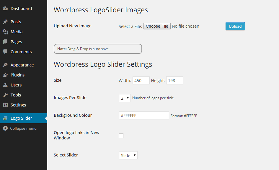 Create a Logo Slider 01