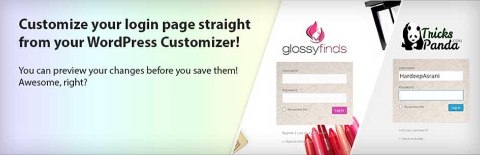Custom Login Page Customizer Plugin