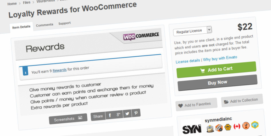 Loyalty Rewards for WooCommerce