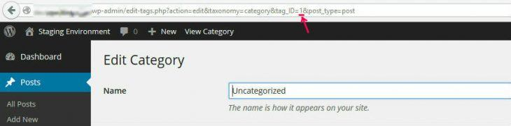 Category ID URL