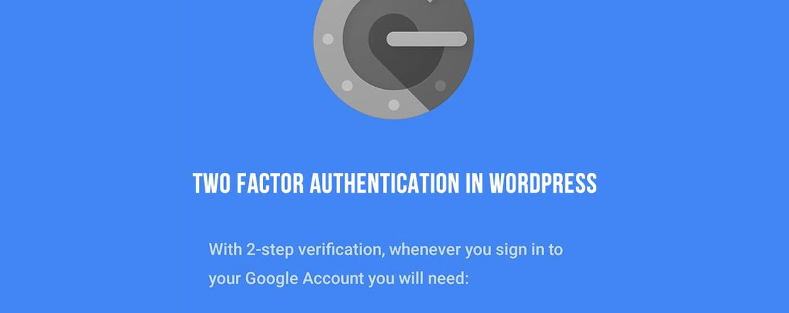 2FA - Adding Two Factor Authentication