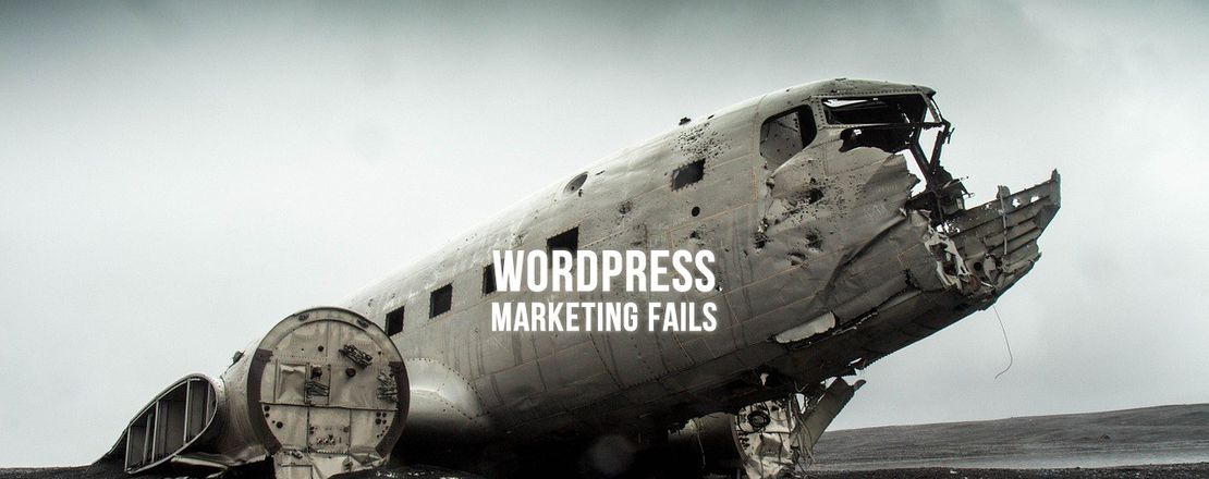 WordPress Marketing Fails