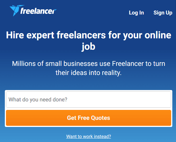 Freelancer.com - WordPress Developer Resource
