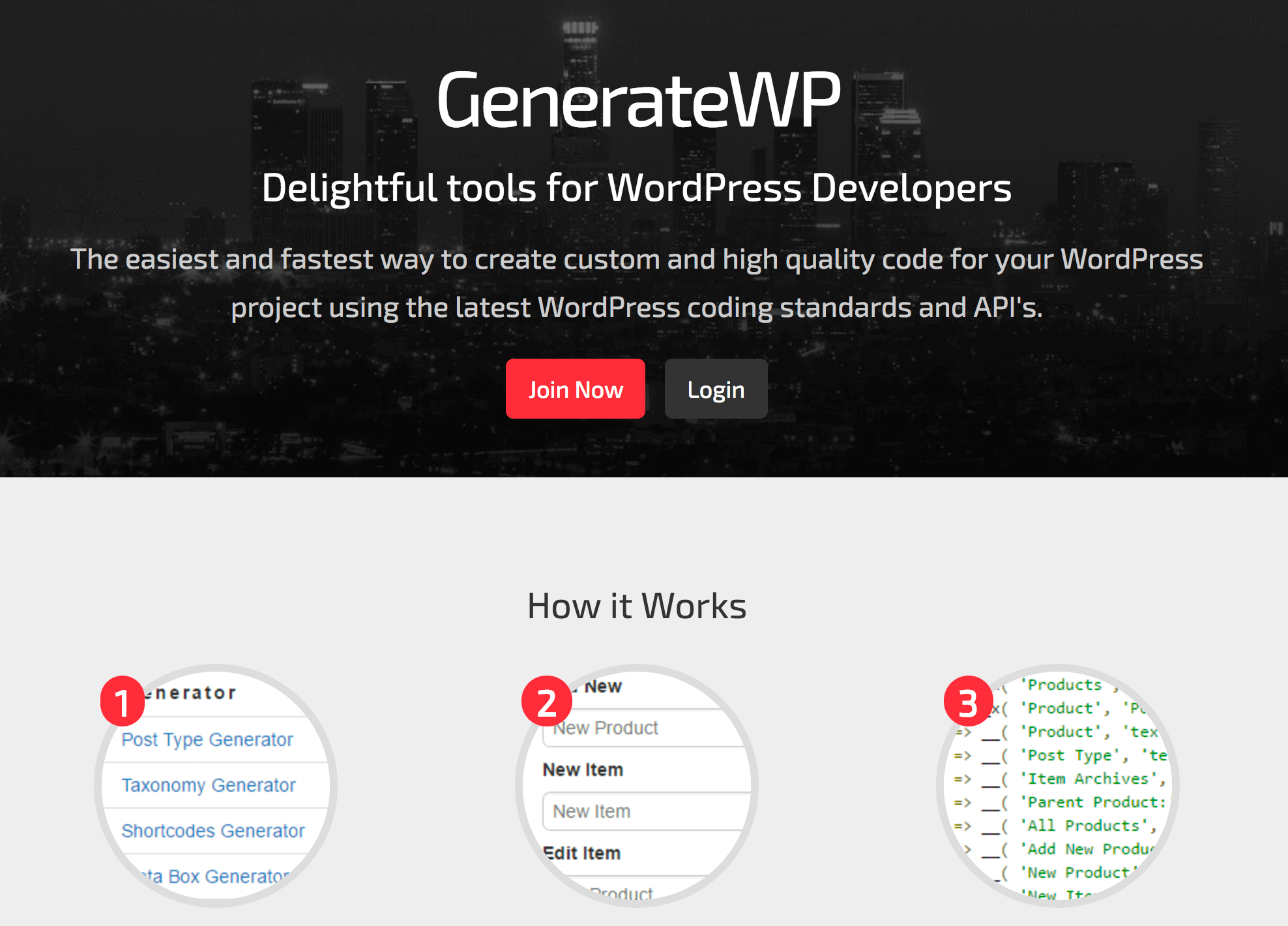 GenerateWP Code Snippets