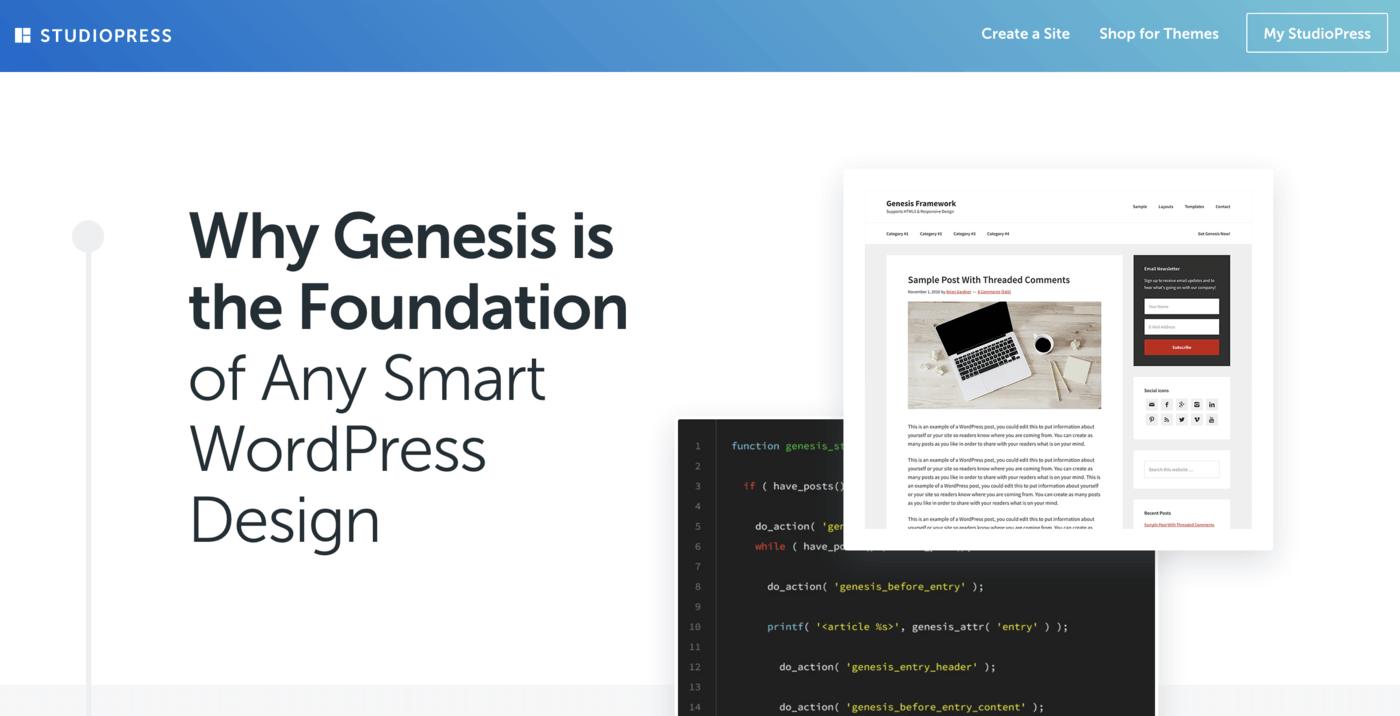 Genesis framework features