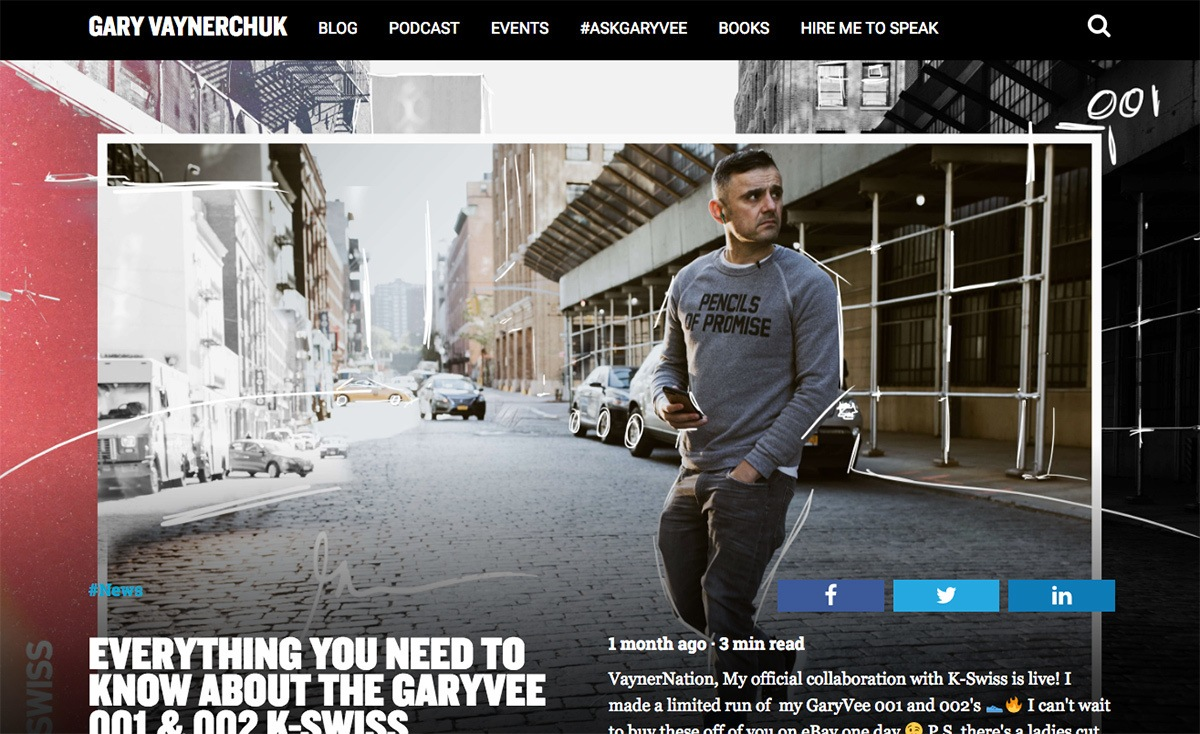 The Gary Vaynerchuk blog
