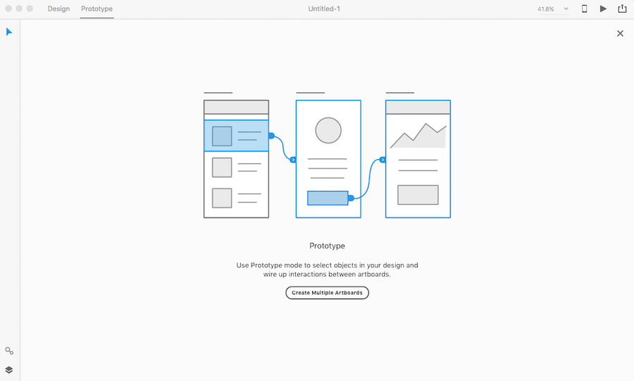 Adobe XD design and prototyping software