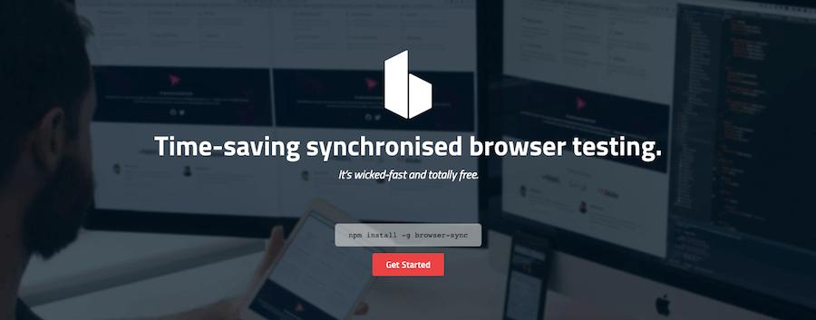 Browsersync Cross-Browser Testing