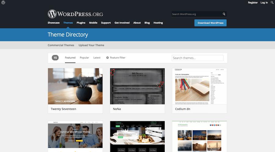 WordPress Theme Repository