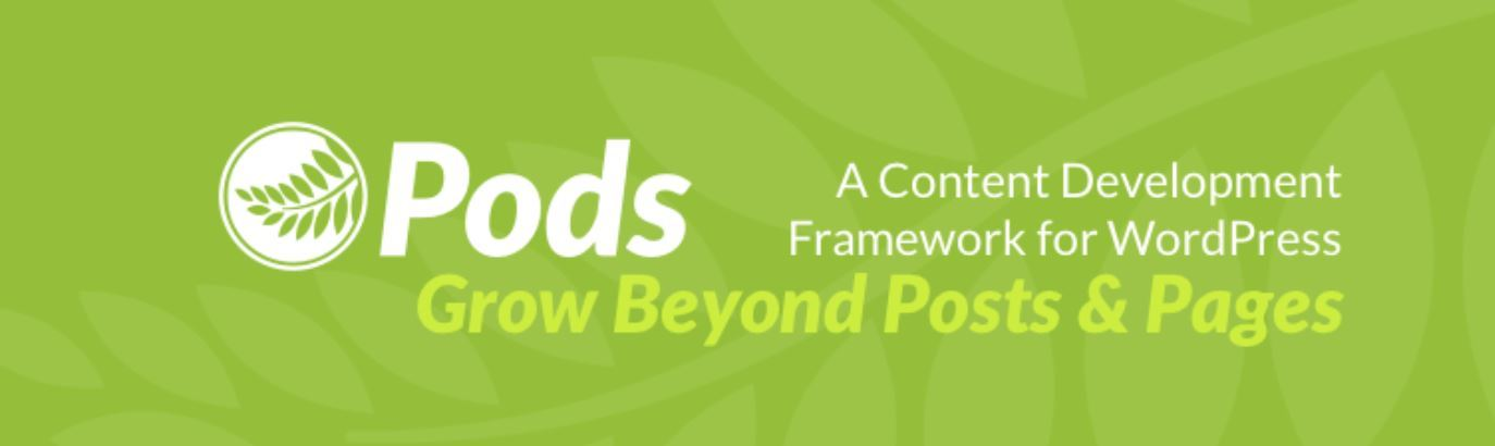 Pods WordPress Plugin Header Image