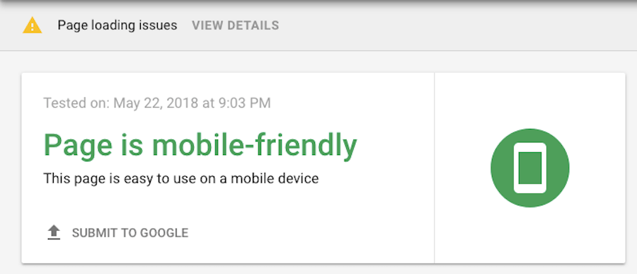 Google Mobile-Friendly