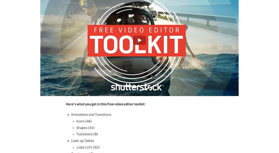 Shutterstock Toolkit