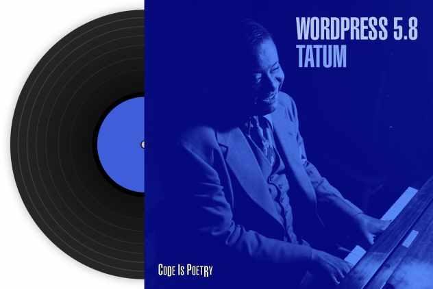 WordPress 5.8 Tatum